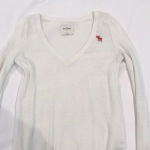 abercrombie v neck sweater